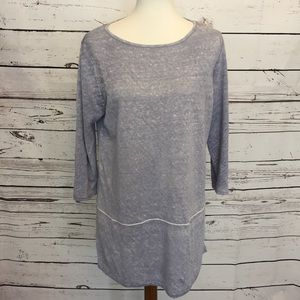 Pure Jill j. Jill medium linen tunic